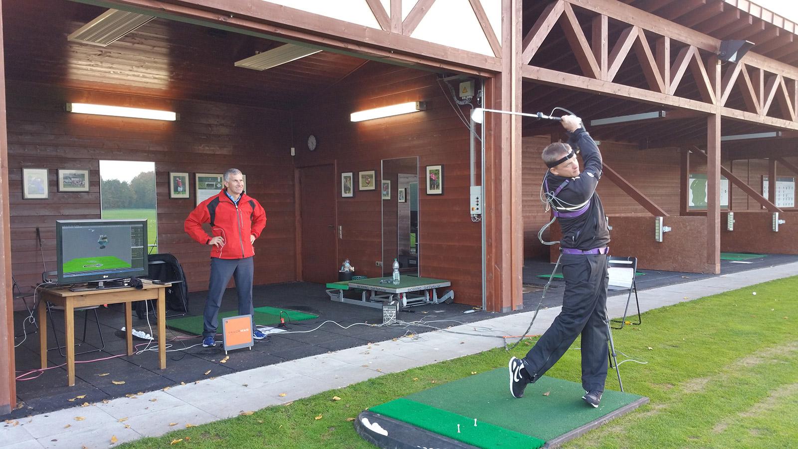 Improve Your Golf Swing through 3D Technology