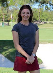 Karen Harrison co-founder of Golf BioDynamics